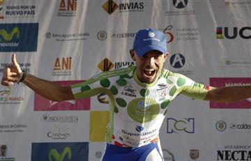 ¡Mauricio Ortega campeón de la Vuelta a Colombia!