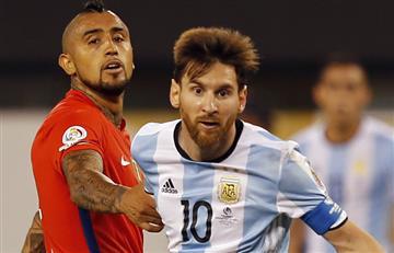Arturo Vidal lamenta el retiro de Messi