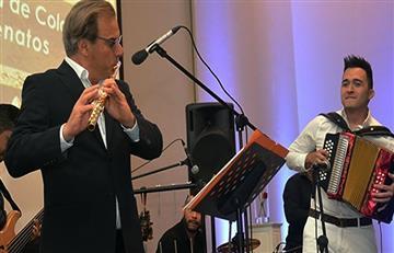 El acordeón de Sergio Luis Rodríguez se mezcla con música clásica