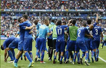 Italia eliminó a España en los octavos de final