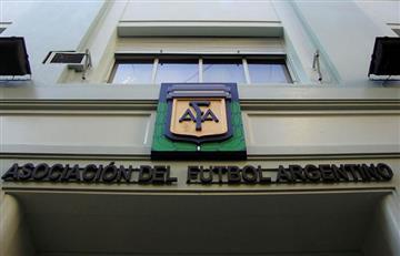 Por amenaza de bomba desalojan sede de la AFA