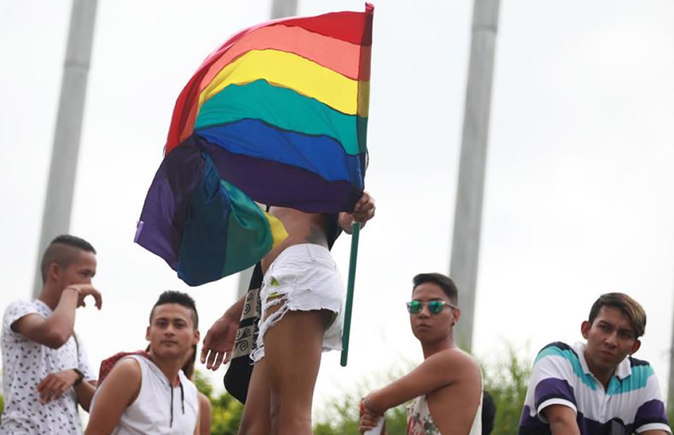 Así fue la marcha del orgullo gay en Cali