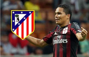 Carlos Bacca podría jugar en el Atlético de Madrid