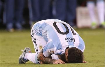 Niño argentino le pide a Messi que no renuncie