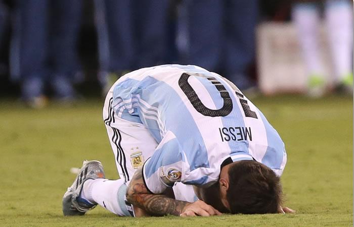 Lionel Messi, capitán Selección de Argentina. Foto: EFE