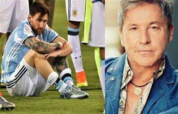 Ricardo Montaner le escribe a Lionel Messi para que no renuncie