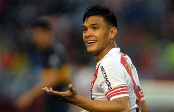 Teófilo Gutiérrez asegura que quiere volver a River Plate