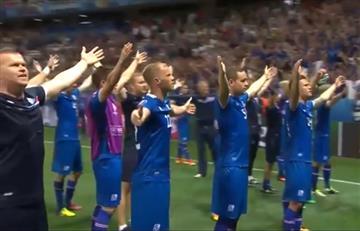 VIDEO: Impresionante festejo de Islandia en la Eurocopa