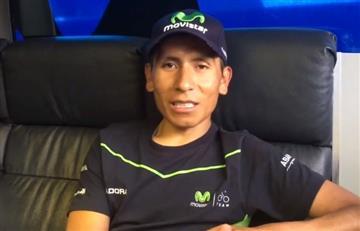 """VIDEO: """"Voy al Tour con una sonrisa para todos"""", Nairo"""