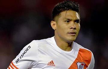River Plate: Teófilo Gutiérrez no tiene chance de llegar al 'millonario'.