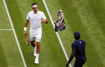 Wimbledon: Federer de fiesta con Marcus Willis