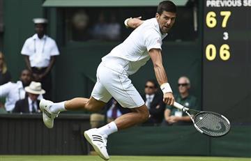 Wimbledon: Novak Djokovic tropezó pero no cayó