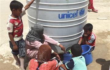 Cuatro millones de niños iraquíes están en peligro