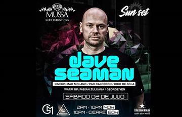 Dave Seaman estará de concierto en Bogotá
