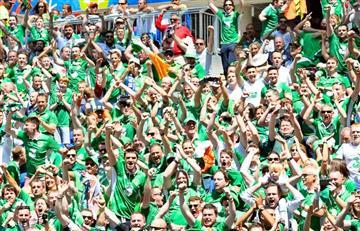 Eurocopa: Condecoración para los hinchas de las dos Irlandas
