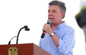 """Santos: """"Agradezco el respaldo a la paz de EE.UU., México y Canadá"""""""