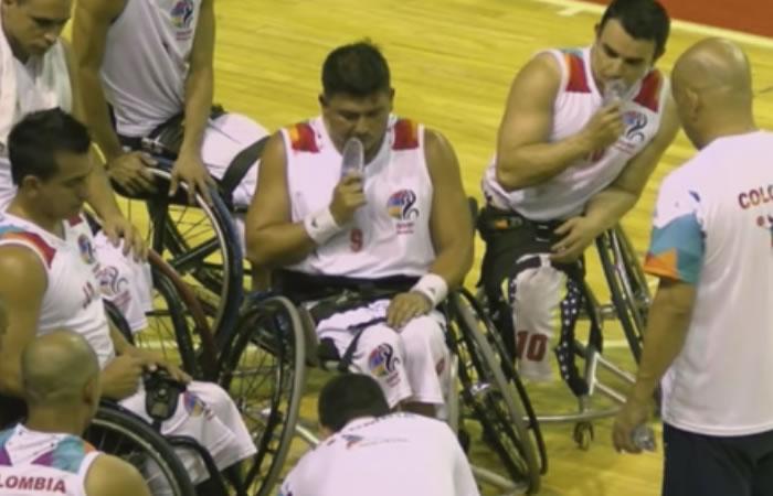 Suramericano de Baloncesto sobre Silla de Ruedas: Colombia sigue ganando
