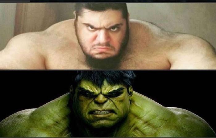 Viral: Hulk es real y vive en Irán