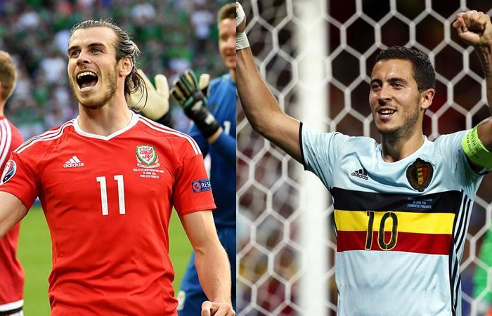 Gales vs. Bélgica, Bale vs. Hazard por un cupo a la semifinal