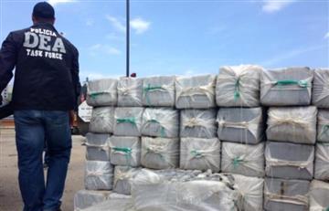 Incautan 12 toneladas de cocaína colombiana