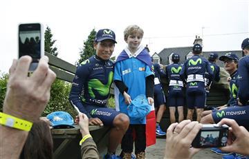Tour de Francia: Lo que usted no vio de la presentación de Nairo Quintana
