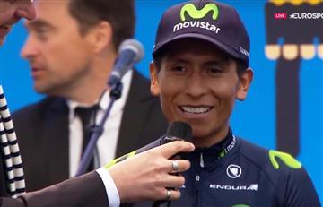 VIDEO: Así fue la presentación de Nairo Quintana en el Tour de Francia