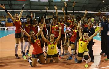 Colombia lista para participar en Copa Panamericana de Voleibol Femenino