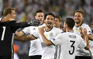 Eurocopa: Alemania se clasificó a la semifinal