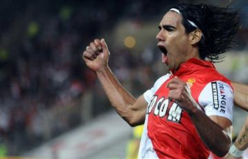 Falcao García anotó en su primer partido con el AS Mónaco