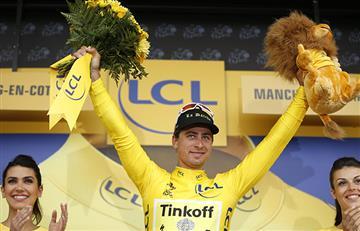 Tour de Francia: Peter Sagan se viste de amarillo