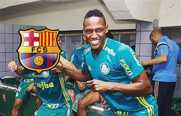 Barcelona: El club español acuerda el futuro traspaso de Yerry Mina