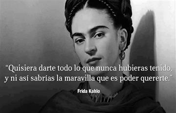 ¡Frida Kahlo feliz cumpleaños!