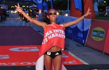 Kellys Arias, bicampeona de la Media Maratón de Panamá