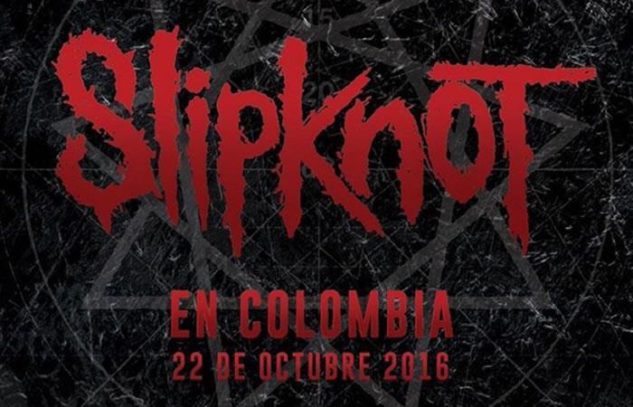 Slipknot tendrá nuevo concierto en Colombia