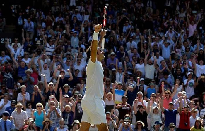 Wimbledon: Federer vence a Marin Cilic y pasa a semifinales