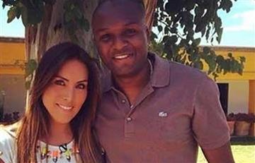 Aquivaldo Mosquera: Karla Pineda pide orden de arresto contra el jugador