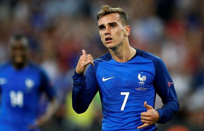 Griezmann anotó los dos goles para Francia. Foto: EFE
