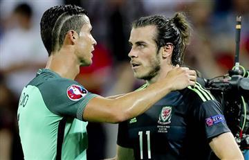 Eurocopa2016: ¿Qué le dijo Cristiano Ronaldo a Gareth Bale?