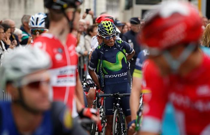 Nairo Quintana se mantiene séptimo en la general.