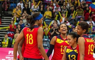 Voleibol: Selección Colombia vence a Venezuela