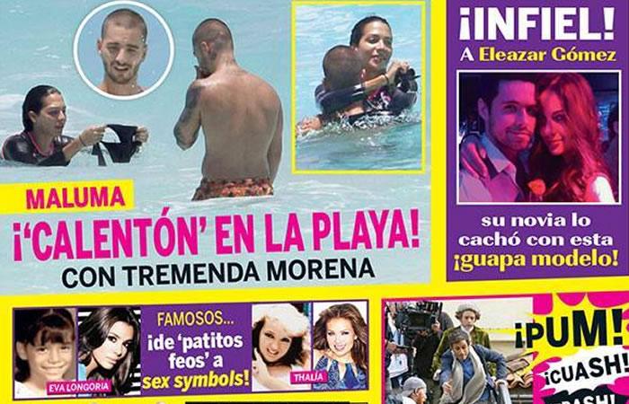 Ella es la mujer con quien relacionan a Maluma