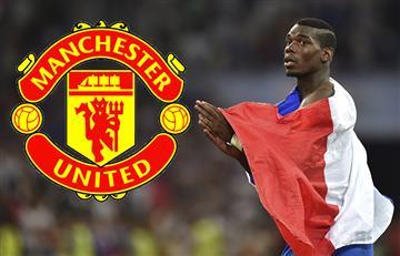 Paul Pogba podría volver al Manchester United