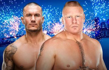 WWE: Randy Orton en SummerSlam contra Brock Lesnar