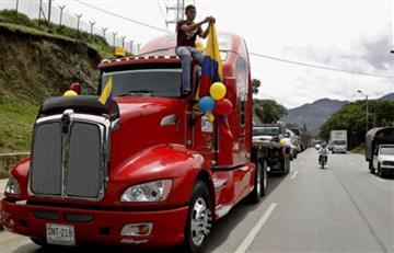 Alerta poramenazasde muerte a camioneros que no se unen al paro