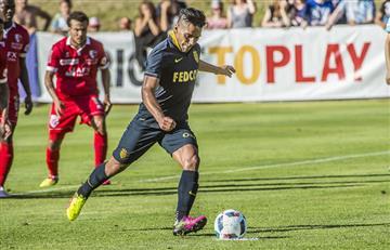 Falcaovolvió a marcar gol