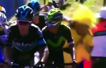 Tour de Francia: ChrisFroomegolpeó a un colombiano