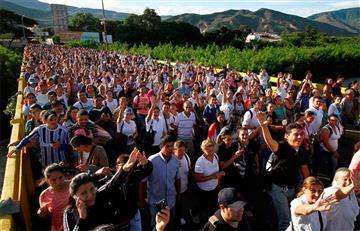 """Cancillería: """"más de 35.000 venezolanos han pasado frontera"""""""
