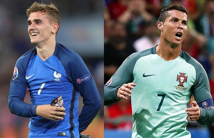 Francia vs. Portugal: datos, formación y transmisión online en vivo