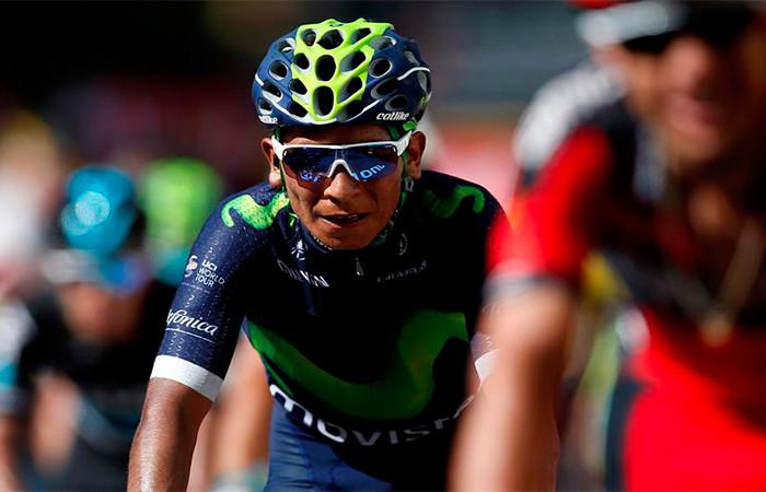 Nairo Quintana cuarto en la general del Tour de Francia