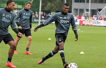 Mateo Casierra ya se entrena con el Ajax